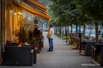 Borsos Szilárd: Kecskemét, Rákóczi utca hangulata