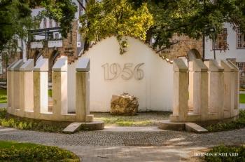 Borsos Szilárd: Kecskeméti 1956-os emlékmű a belvárosban