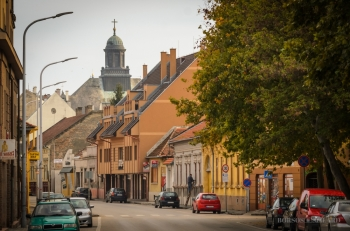 Borsos Szilárd: Kecskeméti Jókai utcai részlet