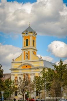 Borsos Szilárd: Kecskeméti Piarista templom