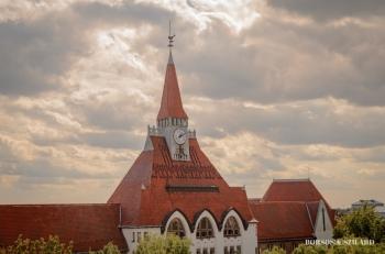 Borsos Szilárd: Kecskeméti Református Általános Iskola tornya