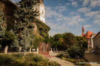 Borsos Szilárd: Kecskeméti Református templom mögötti részlet