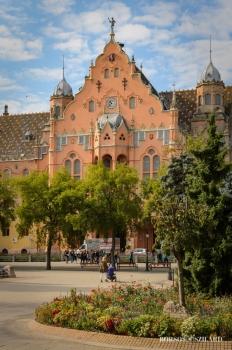 Borsos Szilárd: Kecskeméti Városháza nyáron
