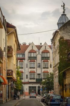 Borsos Szilárd: Kecskeméti Wesselényi utcai részlet