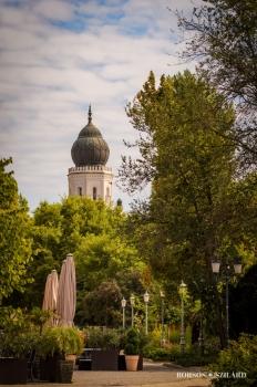 Borsos Szilárd: Kecskeméti Zsinagóga nyáron